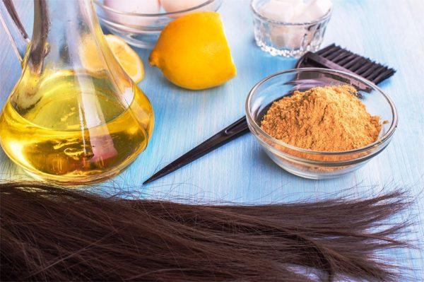 Домашние маски для сухих волос 3