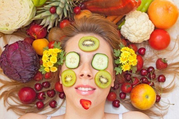 Полезные продукты для красоты и молодости лица