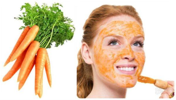 Морковный сок для красоты лица