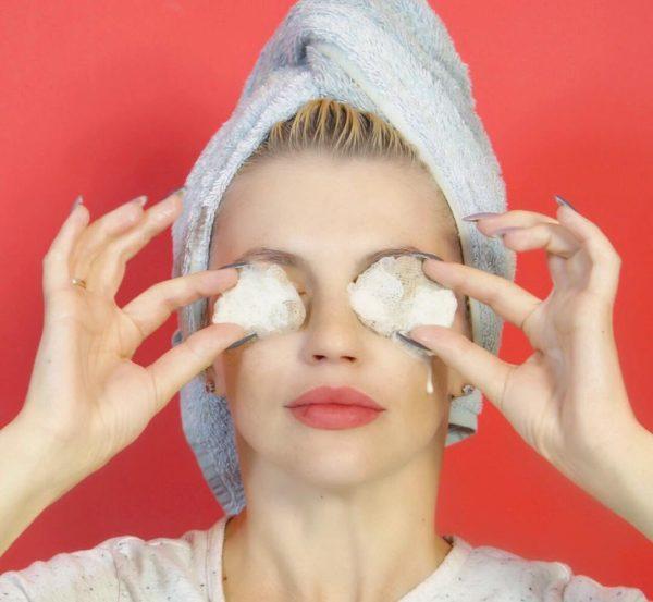 Разнообразные компрессы и примочки помогают с успехом бороться против синяков пол глазами