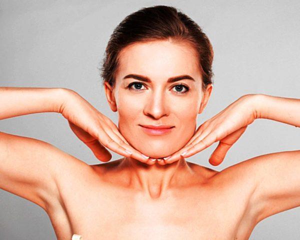 Как делать массаж и гимнастику при двойном подбородке