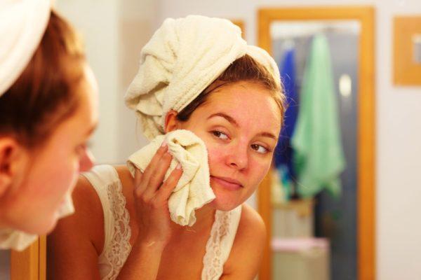 Подготовка к массажу лица