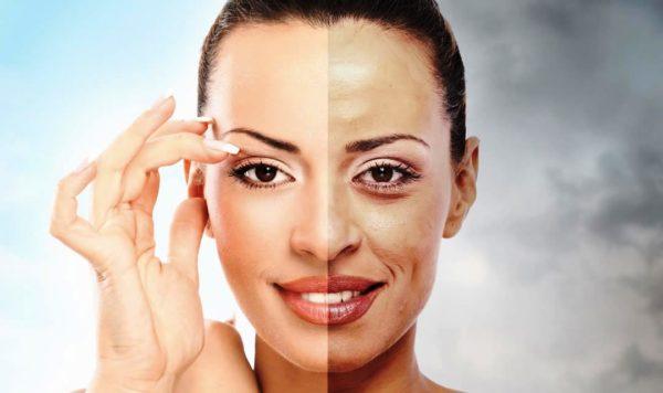 Первые признаки фотостарения могут проявиться уже к 28-30 годам, то есть это самое время задуматься о поддержании и защите кожи от этих вредного воздействия ультрафиолета