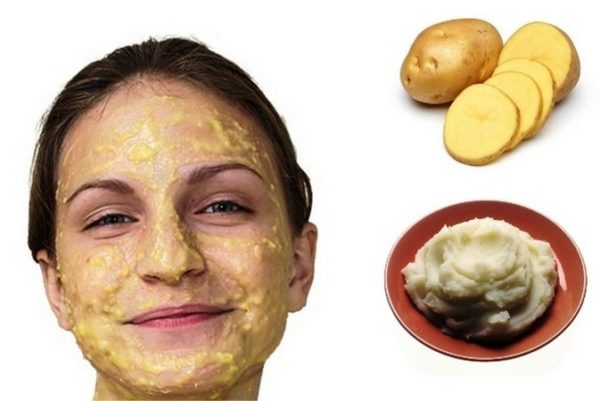 Картофельная маска для лица