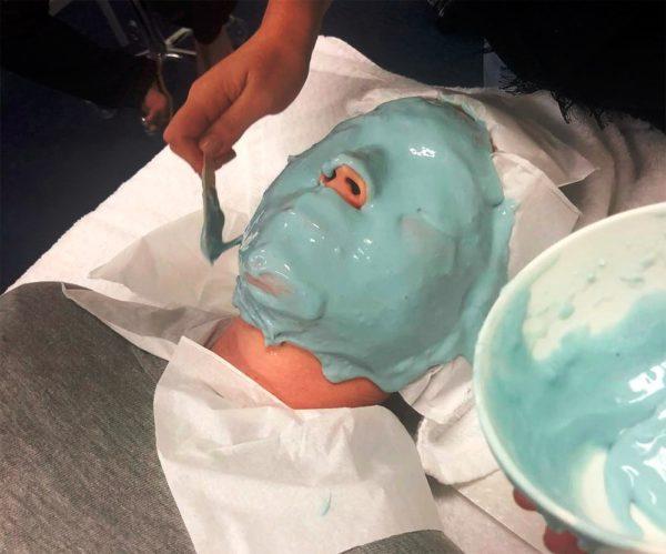 Альгинатные маски у косметолога