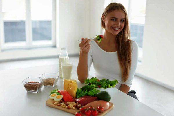 Правильное питание - залог красивой кожи