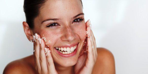 Солевая чистка кожи