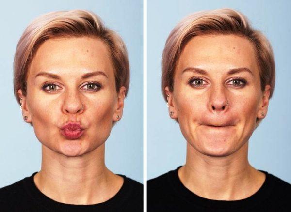 И еще одно упражнение: сжимайте и разжимайте зубы 10-12 раз подряд, рот при этом должен быть закрыт