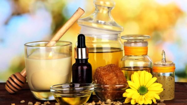 Крем на основе масел и пчелиного воска