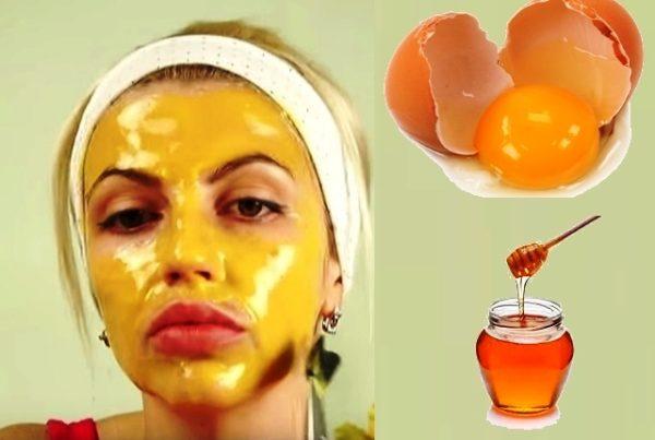 Белково-медовая маска