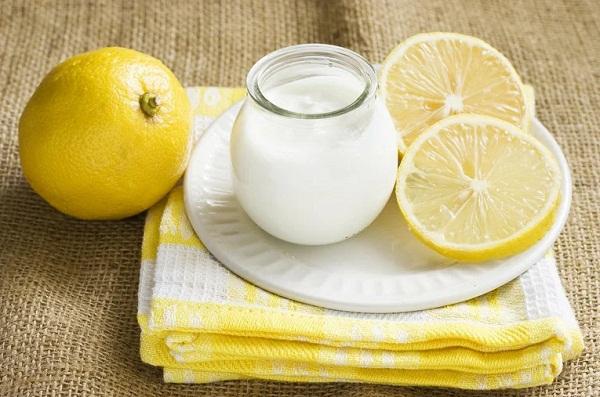 Лимонно-кефирная маска