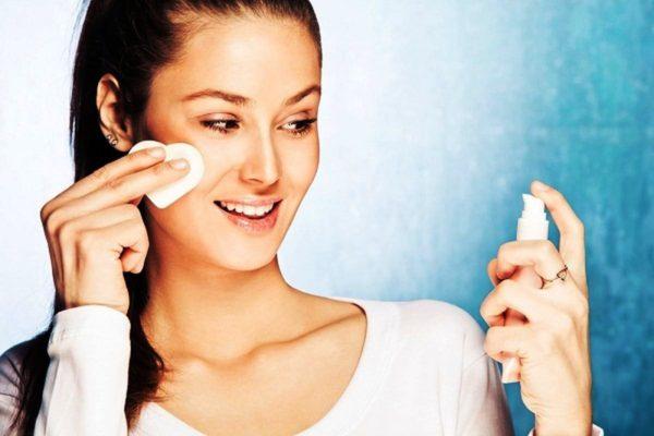 Очищение сухой кожи