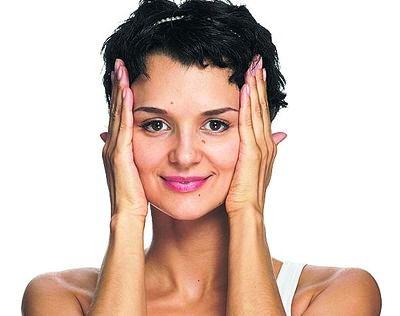 Лимфодренажный комплекс для снятия усталости с лица