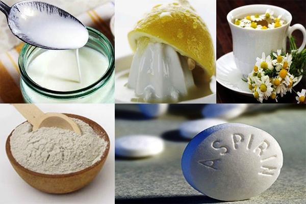 Аспириновые маски длялица