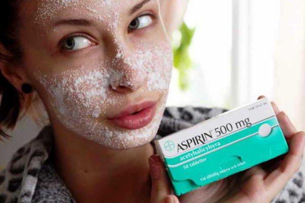 Маски с аспирином для кожи лица