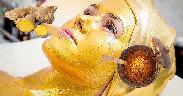 имбирная подтягивающая маска для кожи лица