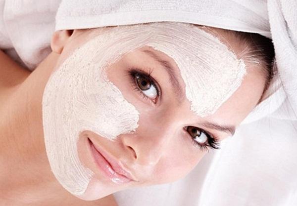 подтягивающая маска из йогурта
