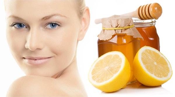 Медово-лимонная подтягивающая маска