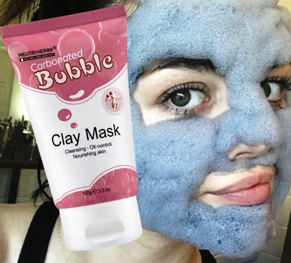 Кислородная пузырьковая маска от прыщей