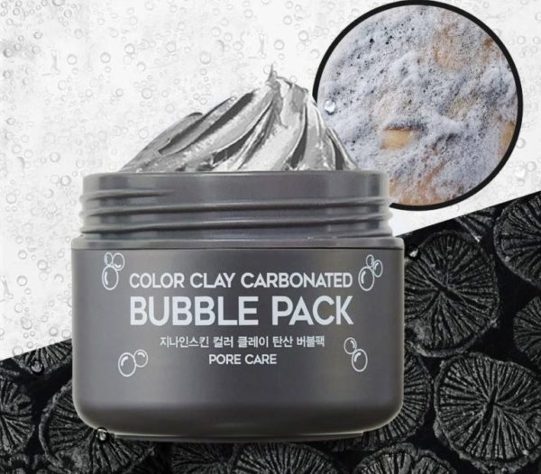 Пузырьковая маска G9Skin Color Clay Carbonated Bubble Pack