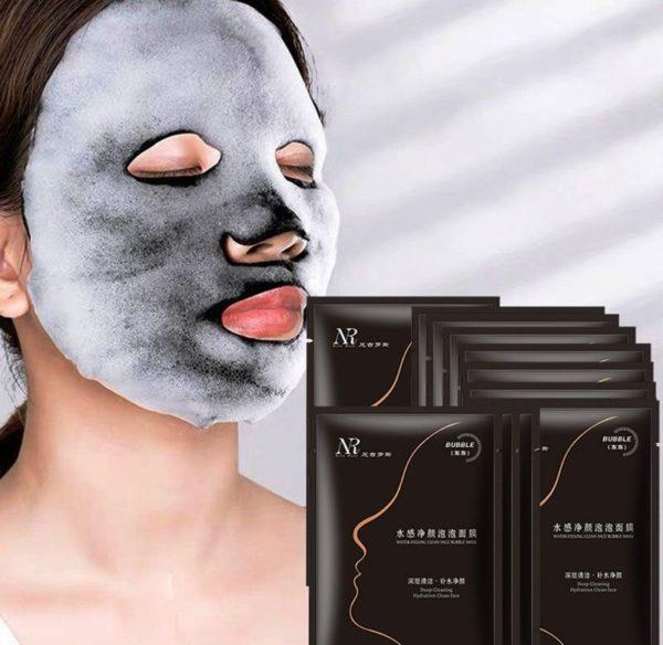 Bubble Mask Пузырьковая маска Charcoal