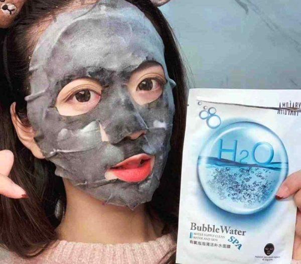 Корейская маска Bubble
