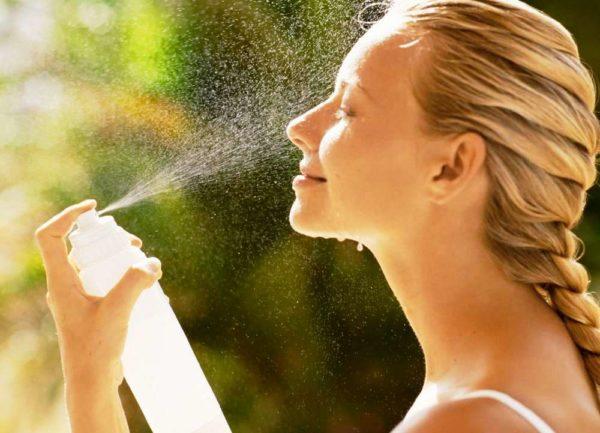 Очень полезно для кожи применять термальную воду
