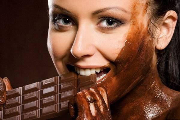 польза шоколадной маски для лица