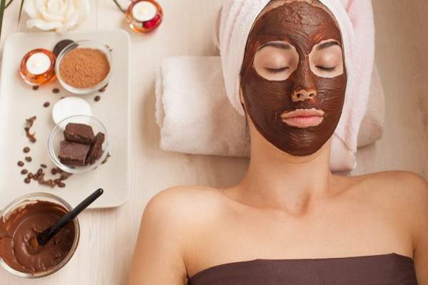 Маска для лица из шоколада