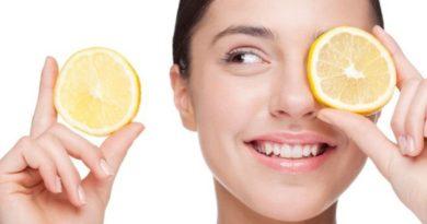лимона для лица
