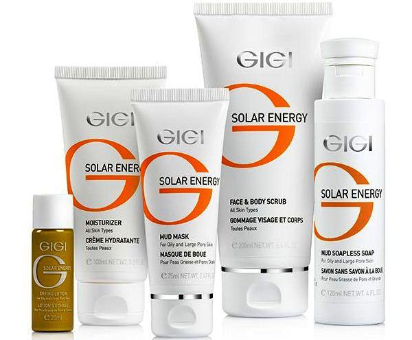 Грязевая маска «SOLAR ENERGY» GIGI