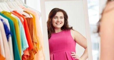 Как правильно выбрать платье большого размера