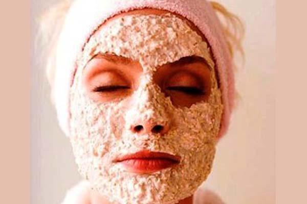 маска из соды и овсянки для лица