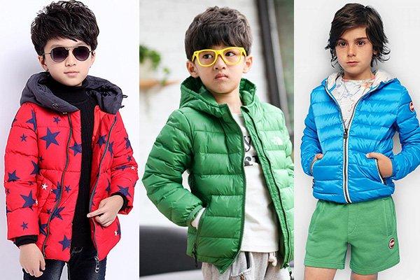 Обычные детские куртки