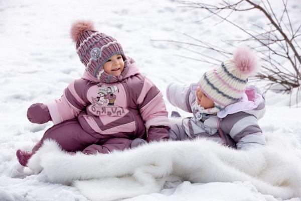 детская зимняя одежда с утеплителем