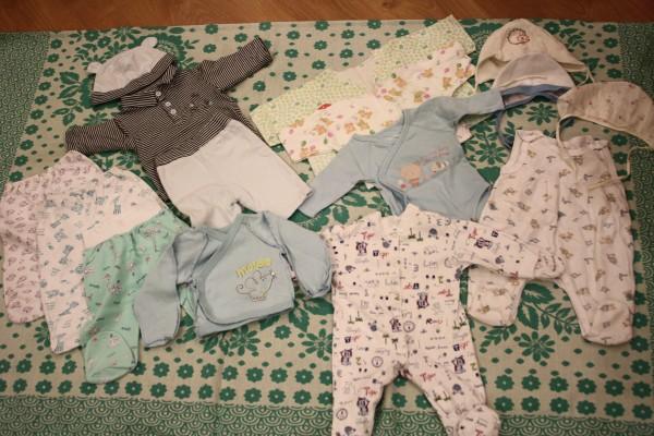 Какая одежда должна быть у новорожденного малыша
