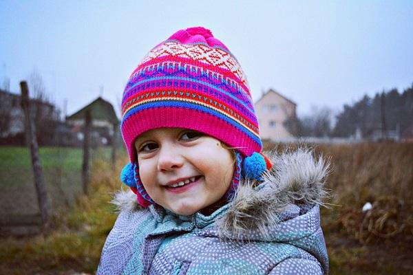 зимние шерстяные шапочки для детей