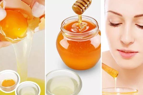 Рецепт маски на меду со взбитым яйцом