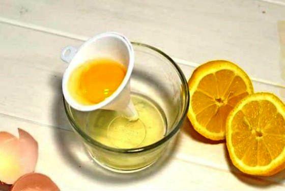 Белкоаво-лимонная маска с толокном