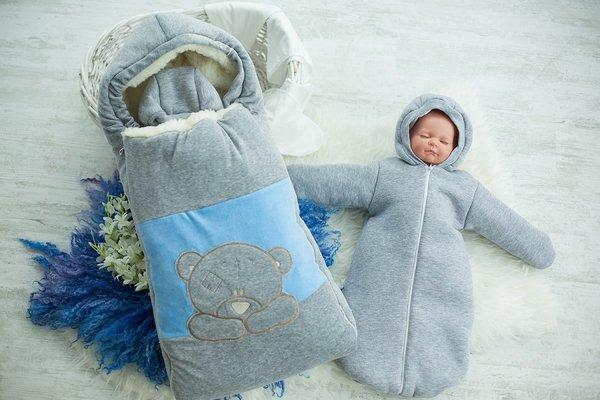 Зимняя одежда для грудного ребенка