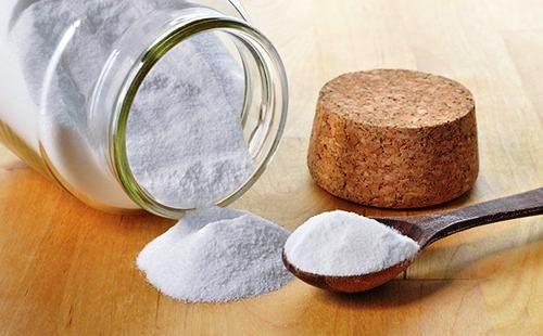 Скраб из соли и соды