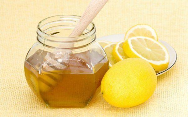 Маска с мёдом и лимоном