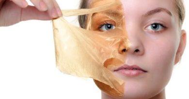 польза желатина для лица