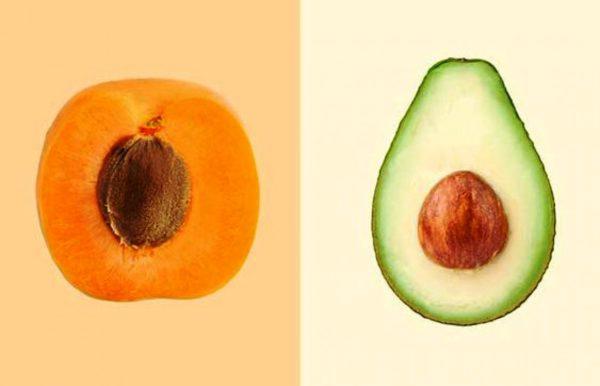 маска из абрикоса и авокадо