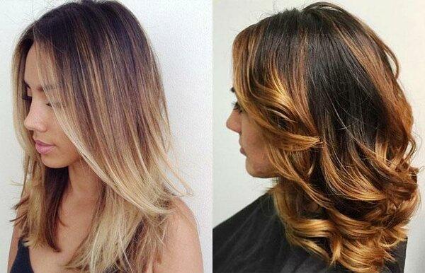 Пользуется популярностью окрашивание волос амбре