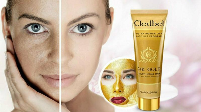 cledbel 24k gold маска-пленка с лифтинг-эффектом