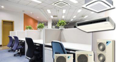 Вытяжная вентиляция в офисах и в торговых залах