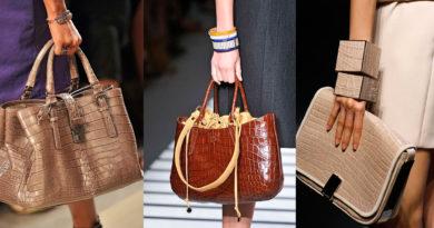 Модные тренды зимних сумок
