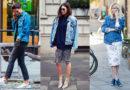 Модный оюраз с джинсовой куртокой