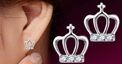 Серебрянные серьги для женщин